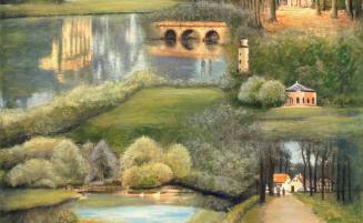 Schönbusch-Collage   (439, Schröner) – derzeit ausgeliehen