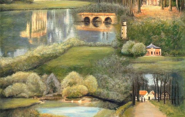 Schönbusch-Collage <p> <br> (439, Schröner)