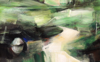 Grüne Landschaft   (617, Winterheld)