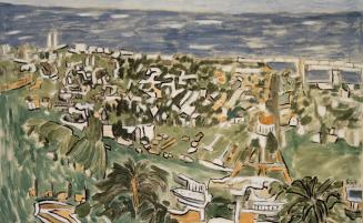 Blick auf Haifa   (658, Hofmann)