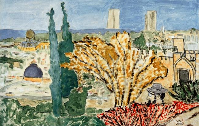 Jerusalem <p> <br> (659, Hofmann)