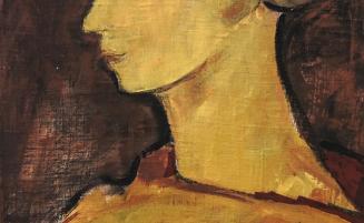 Frauenkopf mit Turban   (66, Simmerl)