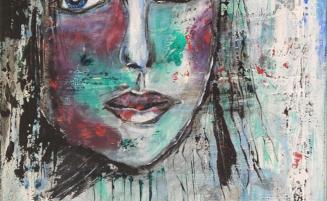 Blaues-Gesicht   (716, Gernhart)