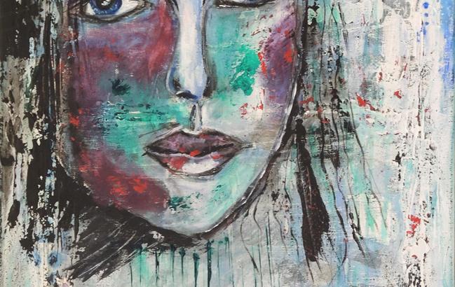 Blaues-Gesicht <p> <br> (716, Gernhart)