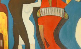 Tänzer – Hommage an einen unbekannten Künstler   (001, Stingl)