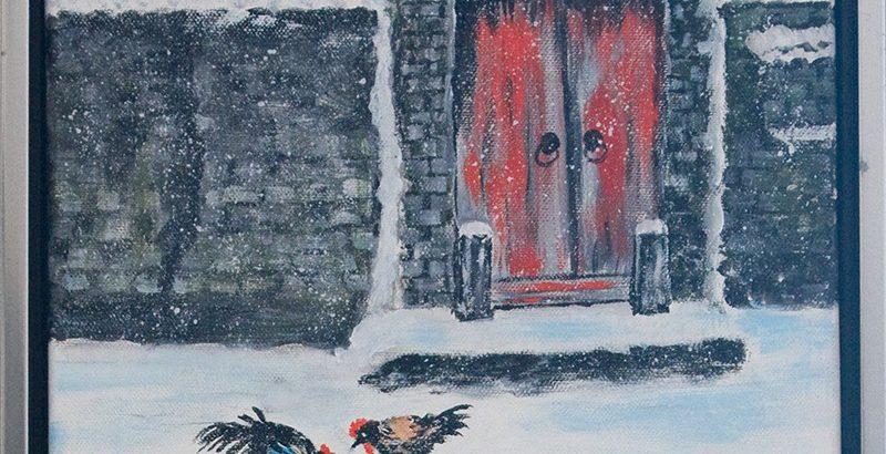 Hühner im Winter <p> <br> (821, Parr)