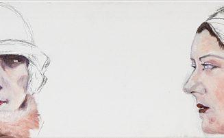 Frauenportraits mit Pelzkragen   ( 686, Weber)