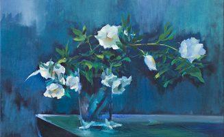 Weiße Rosen   (912, Wind) – derzeit ausgeliehen